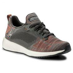 Pantofi SKECHERS - BOBS SPORT 31361/CCOR Charcoal/Orange