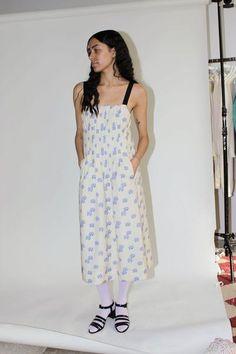 Tank Dress, I Dress, Shirt Dress, Aurora Dress, Ticking Stripe, Grosgrain, Dress Making, Summer Dresses, Silk