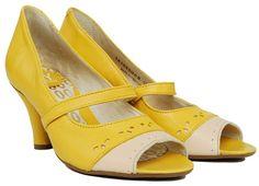 {Anabel peep-toe shoe} by Fly London - so summery!