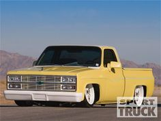 1980 Chevy - Custom Trucks - Sport Truck Magazine My brother's finish project Chevy C10, 87 Chevy Truck, Chevy Pickups, C10 Trucks, Hot Rod Trucks, Pickup Trucks, Small Trucks, Mini Trucks, Sport Truck