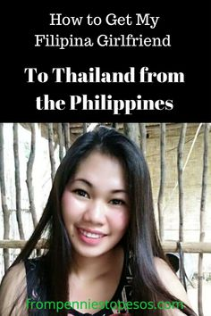 How to Get My Filipina Girlfriend to Thailand from the Philippines: You will have more chance of success if you travel together from the Philippines. Filipina, Philippines, Girlfriends, Traveling By Yourself, Thailand, Relationships, How To Get, Key, Holiday