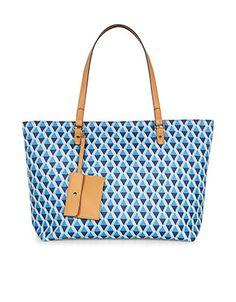 #Accessorize Isabella Geo Print Tote Bag