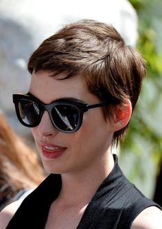 Anne Hathaway at Christopher Nolan's Handprint Ceremony at Grauman's Chinese Theater in Hollywood, July 7th