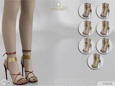 madlensims:  Madlen Versilia Shoes   Beautiful ankle-wrap sandals! These will make you the envy of every party! Joints are perfectly assigned. All LODs are replaced with new ones.You cannot change the mesh, but feel free to recolour it as long as you add original link in the description.If you can't see this creation in CAS, please update your game.If you're experiencing thumbnail problem, update your game (latest patch should solve the problem).Hope you'll like it!Enjoy!   DOWNLOAD (to be…