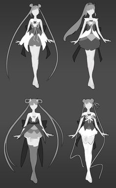 ArtStation - Work in progress Star Guardian Jinx Project (Fan skin for LoL), Selin Aydin