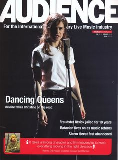 Audience : for the international contemporary live music industry