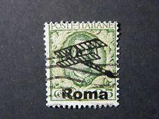 Local Italia WW II Occupation overprint Roma used