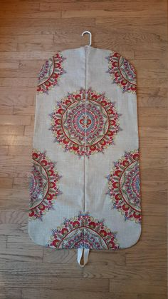 Women's Medallion Hanging Garment Bag by CarryItWell on Etsy