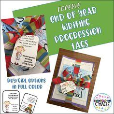 Exclusive Member Club Freebies - Kindergarten Chaos