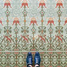 Casa Lleo Morera. Barcelona floors culturainquieta11