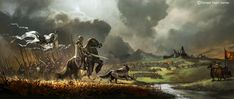 Awesome Battles of Westeros Illustration by Morano