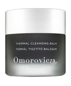 Thermal Cleansing Balm by Omorovicza I have this and it has a faint fragrance of the moor mud and botanicals . Its a bit oily for my taste since my skin type is regular . Better suited for dry skin or skin showing signs of aging.  VixenTam