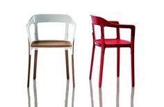 Stellwood chair,uma das últimas criações dos irmãos Bouroullec para a marca italiana Magis