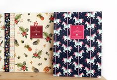 Our new notebook designs <3 <3 now you can purchase at our website www.merykeem.com