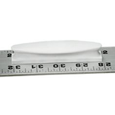 Ruler Handle | Easily attaches to straight edge rulers with high-strength, pressure sensitive adhesive.
