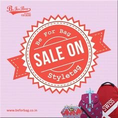 Be For Bag combo sale on Styletag. Sale ends tomorrow! Hurry!! #styletag #sale #bags #discounts