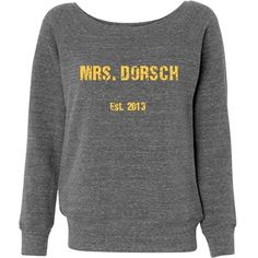 Must have for the day of! So cute...with the right last name on it of course