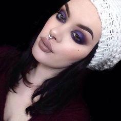 Lime Crime - NYE makeup inspo wearing 'Buffy' Velvetine via...