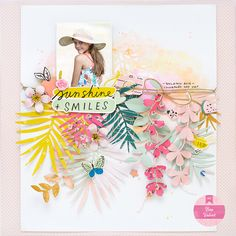 Scrapbook Designs, Scrapbooking Layouts, Scrapbook Cards, Sweet Stories, Crate Paper, Card Sketches, Layout Inspiration, Cute Designs, Mini Albums