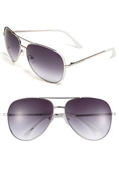 MICHAEL Michael Kors 'Sicily' Metal Aviator Sunglasses available at Nordstrom