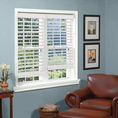 Perfect Lift Window Treatment White 2 in. Textured Faux Wood Blind - 72 in. W x 72 in. L (Actual Size: 72 in. W x 72 in. - The Home Depot White Faux Wood Blinds, Vinyl Mini Blinds, Unique Ceiling Fans, Aluminum Blinds, Best Blinds, Horizontal Blinds, Timber Slats, Canada, Blinds For Windows