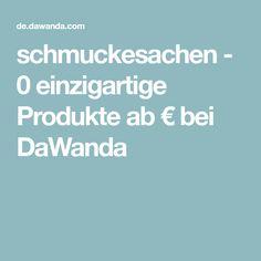 schmuckesachen - 0 einzigartige Produkte ab € bei DaWanda Etsy, Unique, Handmade, Products, Schmuck