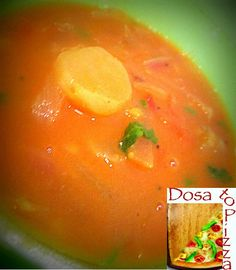 Sambar is an exotic traditional dish of South India made from Toor dal in a combination of tamarind and vegetables.