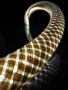 Flax braid composite. Used here as LED light enclosure.