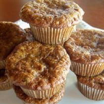 Try Delicious Gluten- and Dairy-Free Morning Glory Muffins: Gluten-Free Morning Glory Muffins