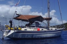 39' Hallberg Rassy, 1999 REDUCED $184,000 todd@bviyachtsales.com Kia Orana is an exceptionally well equipped & well cared for example of this legendary offshore design. A veteran of multiple cruising rallies & open water passages has also spent some time cruising in the Caribbean, and yet, her equipment & systems are all still young to be reliable for one wanting to jump across the Pacific, or around the world.