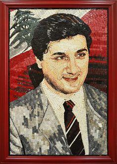 Lebanese President Marble Mosaic, via Flickr.
