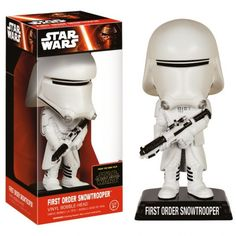 The Pop! Vinyl figure comes in a displayable window box! It stands approx. Star Wars Episode VII Wacky Wobbler Bobble-Head First Order Snowtrooper 15 cm ( Funko ) Peter Mayhew, Mark Hamill, Carrie Fisher, Star Wars Characters, Star Wars Episodes, Star Wars Episodio Vii, Starwars, Regalos Star Wars, Star Wars Figurines