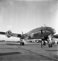A Gracious Lady - The Lockheed Constellation here in KLM colors