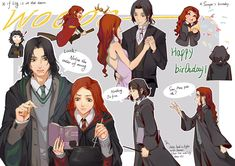eight82two (@eight82two) | Twitter Harry Potter Imagines, Harry Potter Comics, Harry Potter Artwork, Harry Potter Severus Snape, Severus Rogue, Harry Potter Marauders, Harry Potter Ships, Harry Potter Drawings, Harry Potter Jokes