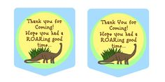 DINOSAUR THEMED PARTY { …and FREE printables }