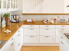 Хорошо спланированное пространство на кухне