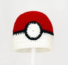 Pokemon Ball Beanie - This beanie constists of a red top and white rim around the bottom with a white circle in the middle and a black line around the circle and around the edge where the colours meet. I chose this beanie because I used to really enjoy pokemon and I think it would be a good addition.