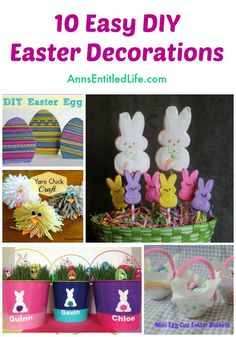 10 Easy DIY Easter D
