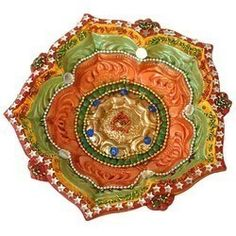 Buy Home Decor Gifts Diwali Diyas Online Usa For Your Dear Ones Shop Metal Diyas Ganesh Aarti Diya