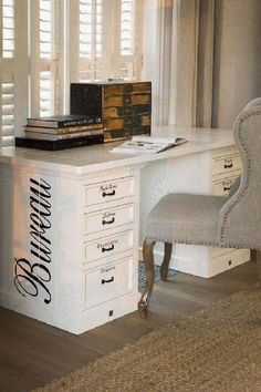 Riviera Maison, The Desk Office Table, Office Workspace, Home Office, Rivera Maison, Studio Table, Study Office, Furniture Projects, Interior Inspiration, Sweet Home