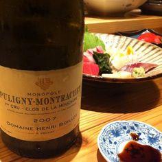 Puligny-Monteachet 2007  photo-wata  great wine !