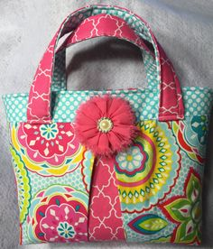 Small tote/Scripture bag/ scripture tote/ LDS scripture bag/ Bible bag