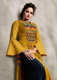 Online Shopping Sites for Lehenga, Sarees and Salwar Kameez - Trendy BIBA Indian Salwar Kameez, Salwar Kameez Online, Indian Dresses, Indian Outfits, Indian Clothes, Designer Wear, Designer Dresses, Ladies Kurti Design, Indian Wedding Wear