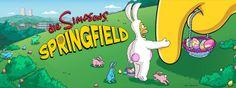 Die Simpsons Springfield: Springfield erlebt eine Invasion gieriger, blutrünstiger ... Hasen?!  Auch in Springfield ist Ostern angesagt. Doch während überall andernorts versteckte Ostereier friedlichgesucht werden, wird die Heimat der Simpsons von heimtückischen Hasen attackiert. Da heißt es für die Spieler, den Knüppel mit einem Hasenschocker zu tauschen und mit etwas Glück unbeschadet a ...