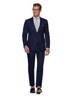 Suit Blue Check Sienna P4828 | Suitsupply Online Store