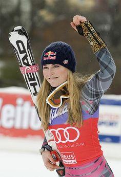 Lindsay Vonn   World Champion Skiier