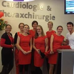 Red DRESS day voor de congenitale cardiologie in het Erasmus MC  http://www.facebook.com/dressredday#!/pages/NVVC-Dress-Red-Day-Professionals/497815933580818?filter=2