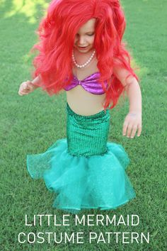 A complete guide to sew a little mermaid costume that is made to fit your child exactly! :D