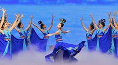 Modern Chinese Dance - Shen Yun - in a skirt