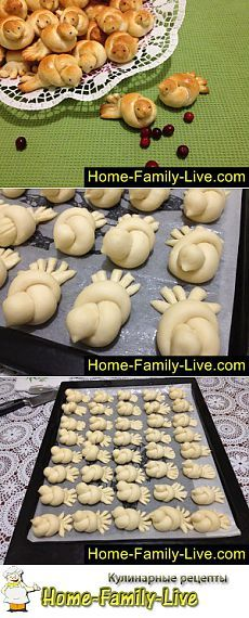 Turkey or birds lol (Baking Bread Rolls) Cute Food, Good Food, Yummy Food, Art Du Pain, Bread Shaping, Bread Art, Bread And Pastries, Food Decoration, Food Humor